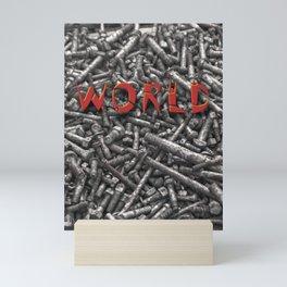WORLD Mini Art Print