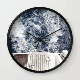 Wake Wall Clock