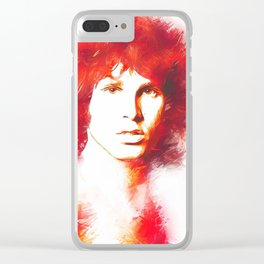 Lizard King. Clear iPhone Case