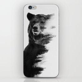 Observing Bear iPhone Skin