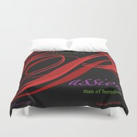 passion Duvet Covers featuring Passion by ZooLN Art