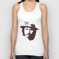 johnny depp Tank Tops featuring Lab No. 4 - Johnny Depp Motivational quotes Poster by Lab No. 4
