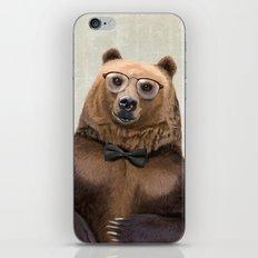 Mr Bear iPhone & iPod Skin