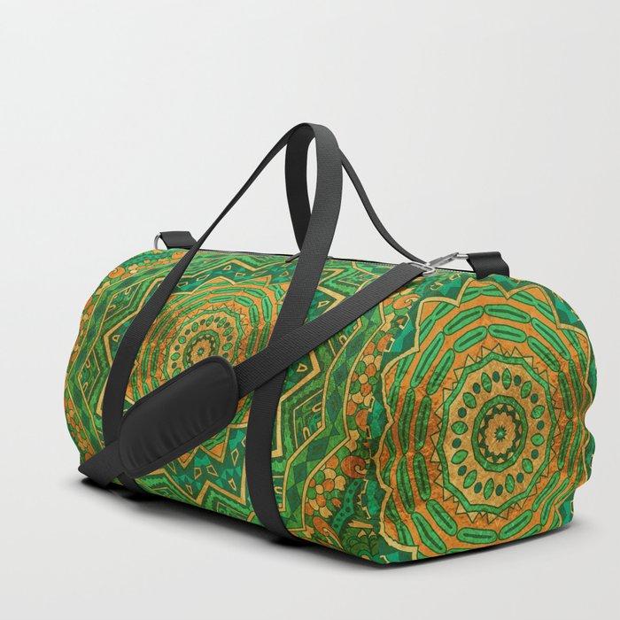 Jade Mandala Duffle Bag