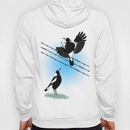 Magpies: learn to fly Hoody