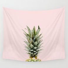 Pineapple Pastel Wall Tapestry