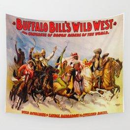 Buffalo Bill Cody - Rough Riders Wall Tapestry