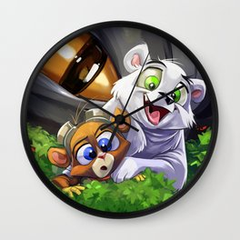 Cutest Heroes Ever! Wall Clock