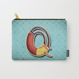 illustrated Q Carry-All Pouch