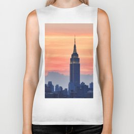New York Sunset Biker Tank