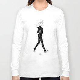 Short Hair Long Sleeve T-shirt
