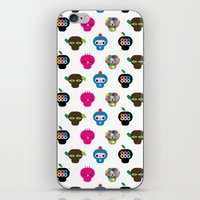 ufo iPhone & iPod Skins featuring Ufo by Plushedelica