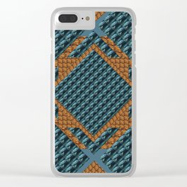 In Xs #Society6 #pattern #buyart Clear iPhone Case