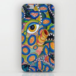Blue Ringed Octopus iPhone Skin