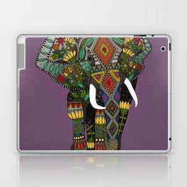 floral elephant violet Laptop & iPad Skin