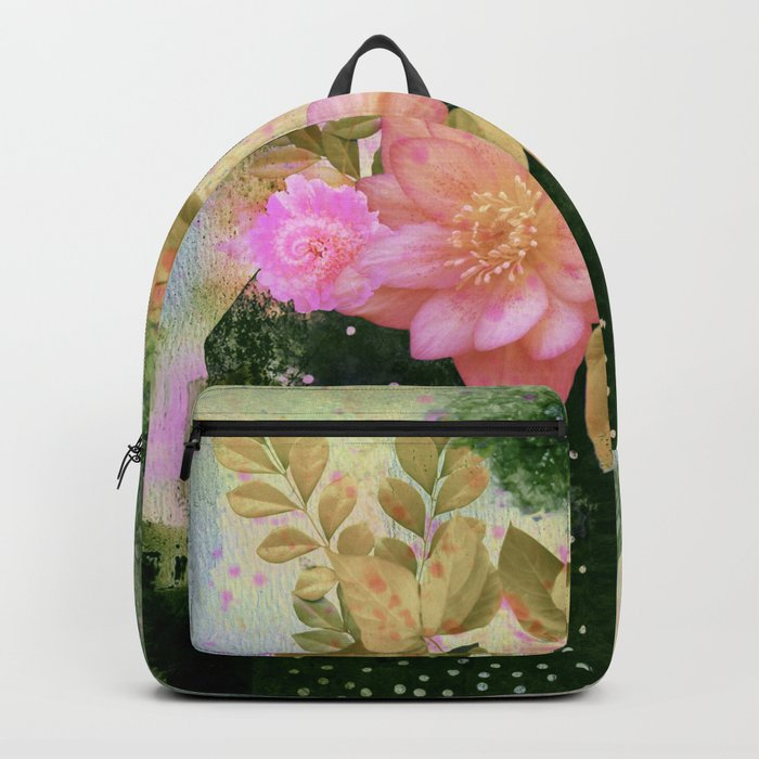 bouquet and vase Backpack