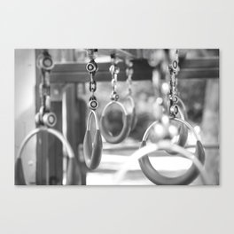 Empty playground Canvas Print