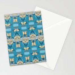 Blue Rinse with Handbag Tessellation Stationery Cards
