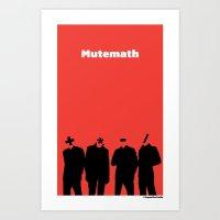 MuteMath (+*-/) Art Print