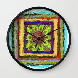 Rustica Mandala (1) Wall Clock