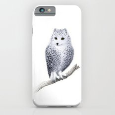 Snowy Fowl Slim Case iPhone 6s