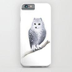 Snowy Fowl iPhone 6s Slim Case