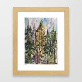 Sunday Valley Framed Art Print