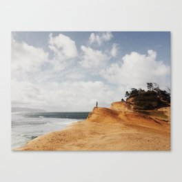 Look to the West Canvas Print