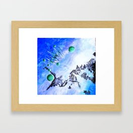 Retract Framed Art Print