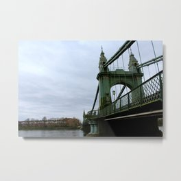 Hammersmith Bridge Metal Print