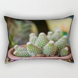 Fat Plants Thorns Cactus Rectangular Pillow