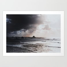 Light vs Dark Art Print