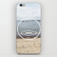 cape cod iPhone & iPod Skins featuring Cape Cod Paradise  by Caroline Fahey