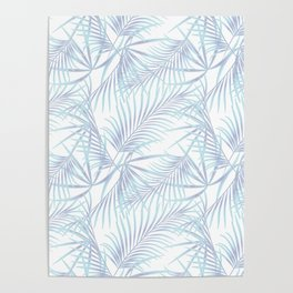 Palm leaves 4. Poster