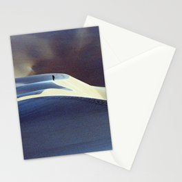 Walking in the sand dunes of Libya | Sahara desert in color Stationery Cards
