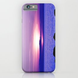 Dusk on the Saint-Lawrence iPhone Case