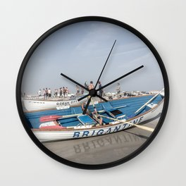 Brigantine Lifeboat Wall Clock