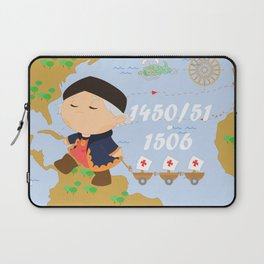Columbus (Cristóbal Colón) Laptop Sleeve