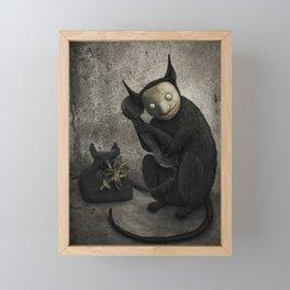 Voces perdidas Framed Mini Art Print