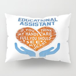 Educational Assistant Pillow Sham