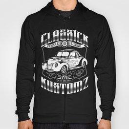 Hot Rod - Classick Kustomz (white) Hoody