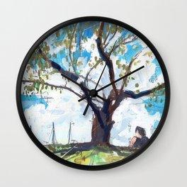 Gibsons Beach Reserve Wall Clock