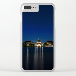 Clear Night in Copenhagen Clear iPhone Case