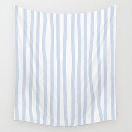 Light Blue Stripes Wall Tapestry