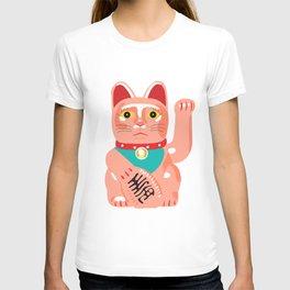 Maneko Lucky Cat T-shirt