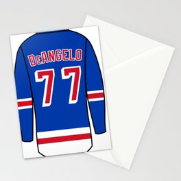 Tony DeAngelo Jersey Stationery Cards