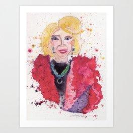 Joan Rivers Art Print