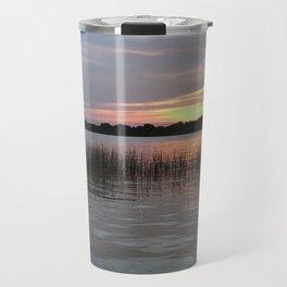 Grass Island Sunset Travel Mug