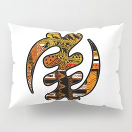 Gye Nyame Black and Gold Pillow Sham