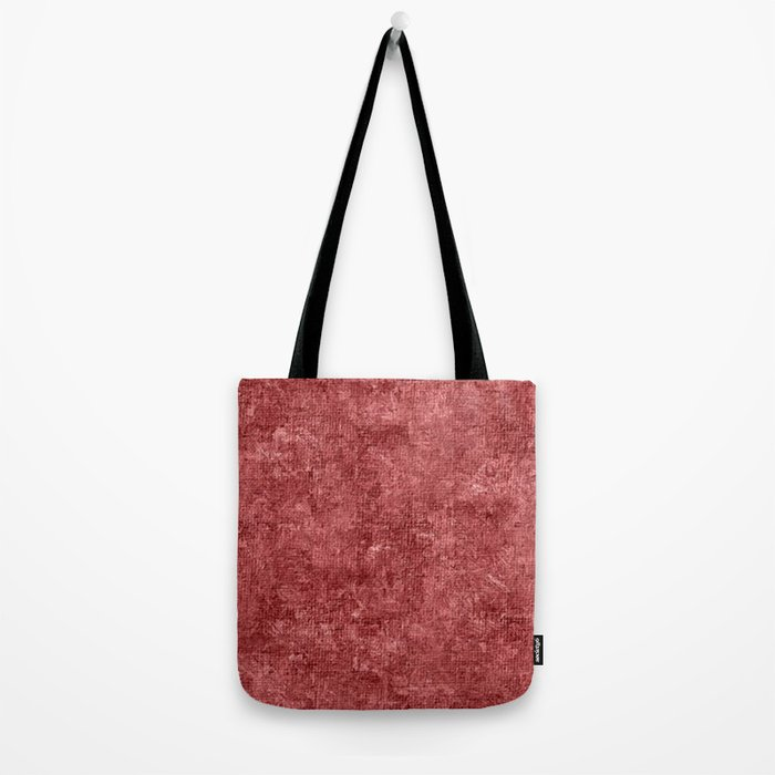 Dusty Cedar Oil Painting Color Accent Tote Bag